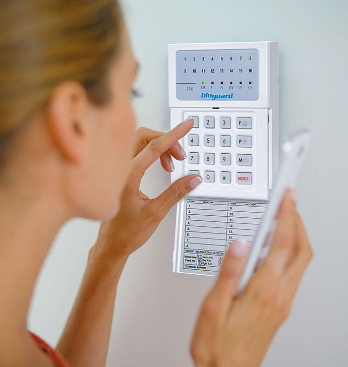Secure your House in a Single Touch